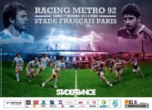Opération marketing mobile menée par Pmu.fr et Quadrupède au Stade de France