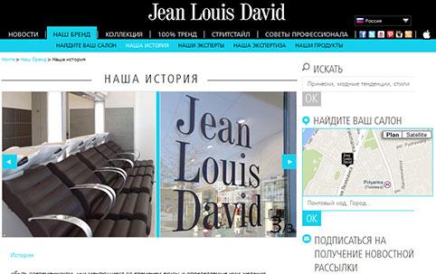 Jean Louis David - site russe