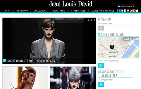 Site Jean louis David - US