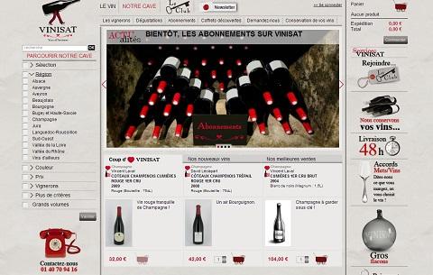 Vinisat : caviste en ligne de vins naturels