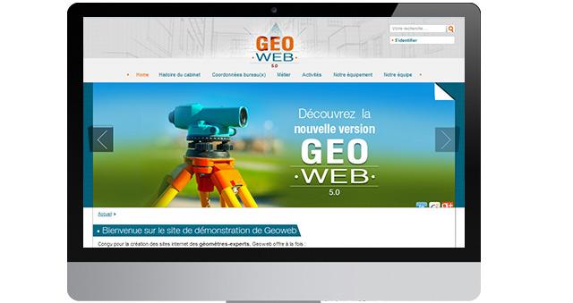Geoweb - site web pour les géomètres