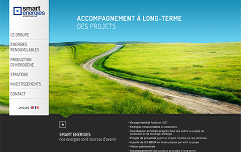 Smart Energies - site institutionnel